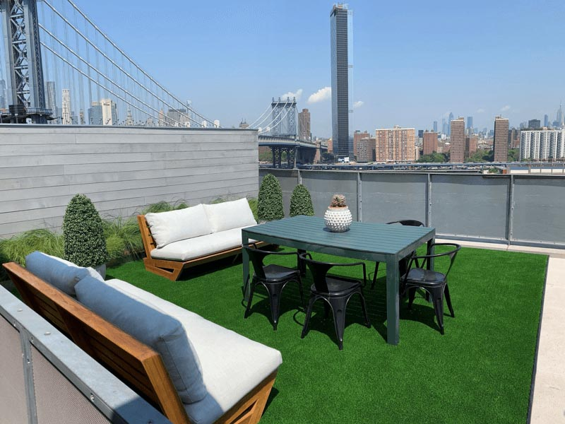 Rooftop and Terrace Landscaping Services